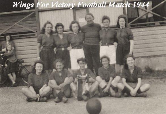 Arrochar Ladies Football Team 1944 - Wings For Victory Cup