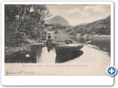 16999 Ben Cross and Ben ime from Inveruglas Castle, Loch Lomond - 1905