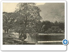 17751 Loch Lomond, On the River Falloch at Ardlui