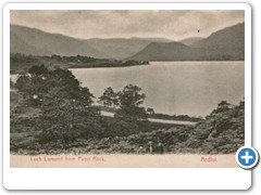 17755 Loch Lomond from Pulpit Rock, Ardlui