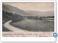17759 Glen Falloch from Ardlui Road Loch Lomond (with writing)