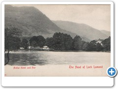 17770 Ardlui Hotel and Pier - The Head of Loch Lomond
