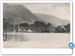 Ardlui Hotel and Pier - The Head of Loch Lomond Berlin 3221