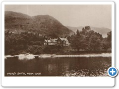 Ardlui Hotel from Loch