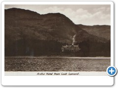 Ardlui Hotel from Loch Lomond