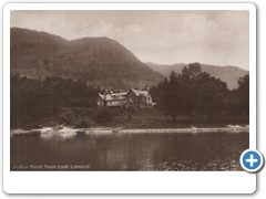 Ardlui Hotel from Loch Lomond 2