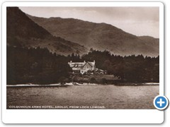 Colquhoun Arms Hotel, Ardlui, from Loch Lomond