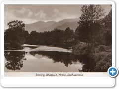 Evening Shadows, Ardlui, Loch Lomond 2