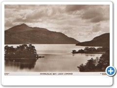 Inveruglas Bay, Loch Lomond W.Ralston Lot Glasgow