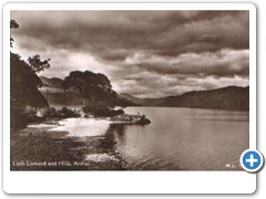 Loch Lomond and Hills, Ardlui M.L.1298