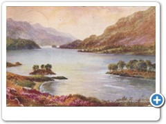 Loch Lomond from Ardlui (art)