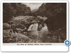 The Falls of Falloch, Ardlui, Loch Lomond