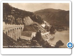 Viaduct, West Highland Railway, Loch Lomond