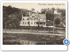 The hotel, Arrochar from the Pier