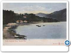 Loch Lomond from Tarbet Pier  Reliable Series 2643
