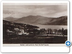 Tarbet, Loch Lomond, from the Golf Course