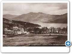 Tarbet, Loch Lomond from the golf course