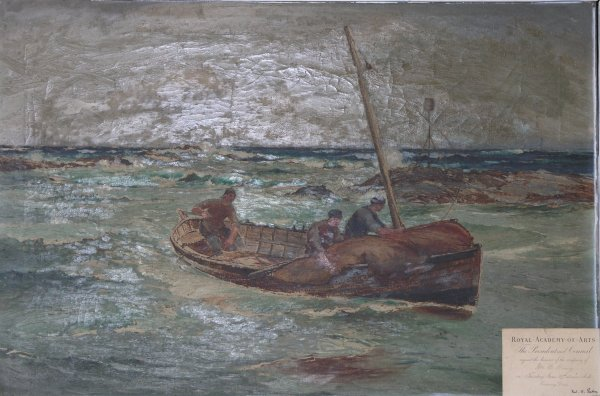 Painting by Barclay Henry exhibited at the Royal Academy Of Arts