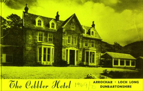 Brochure for Cobbler Hotel from 1969/1970