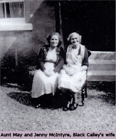 Aunt May and Jenny McIntyre, Black Calley's wife