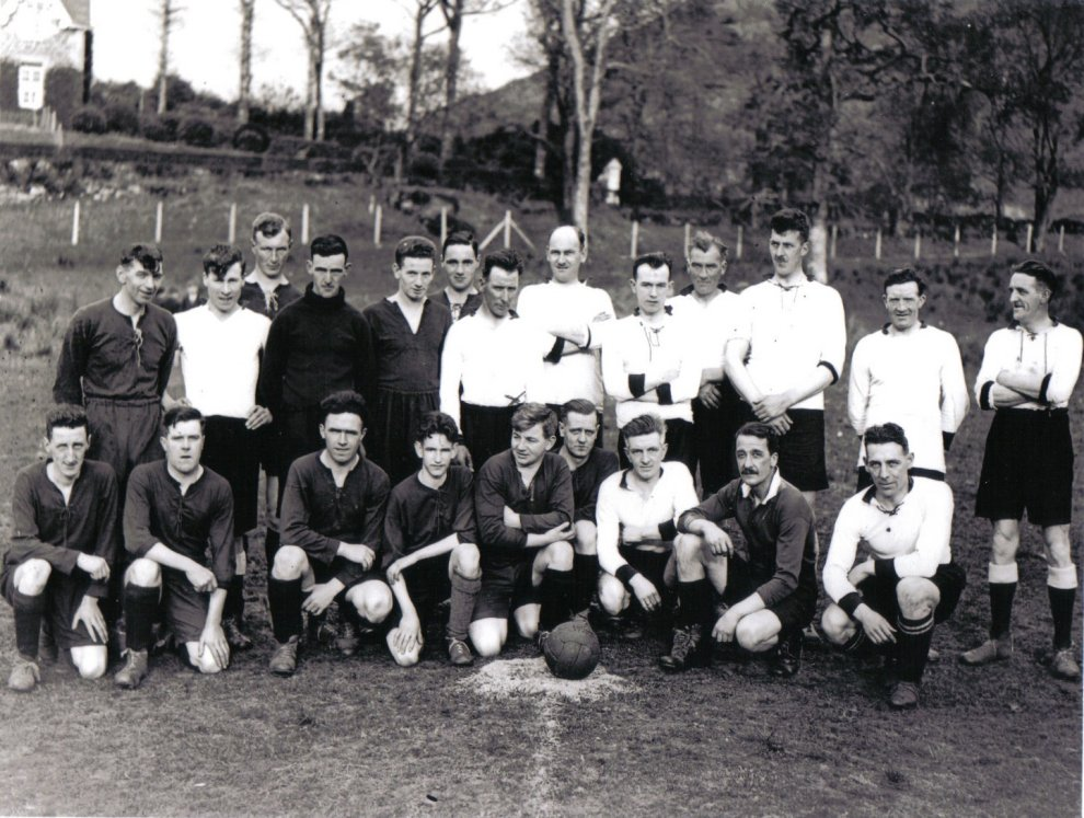 Arrochar Football Team 1930's