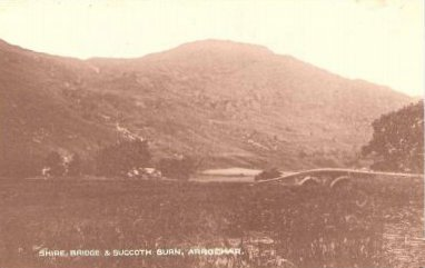 Shire Bridge and Succoth Burn