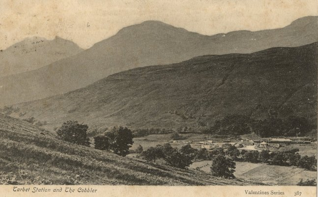 Tarbet Glen and The Toll before the railway was built