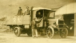 The First Range Lorry c1910