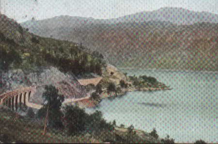 Creaganardain Viaduct Loch Lomond in 1908