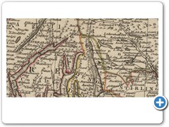 1782, 1783 - John ANDREWS - Andrews's new and accurate travelling map of the roads of Scotland