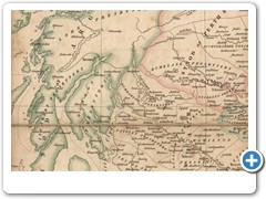 1825 - Aaron ARROWSMITH - Ecclesiastical map of Scotland
