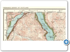 1921-28 - ORDNANCE SURVEY - One-inch Popular edition maps of Scotland - Sheet 66